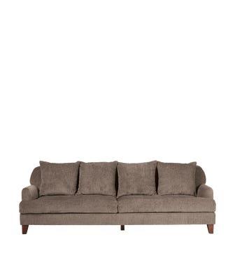 Grasmere 3-Seater Sofa - Mole
