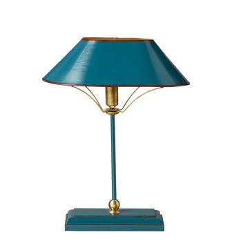 Grisewood Lamp & Shade - Teal
