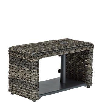 Hanway Garden Parasol Table - Flint Grey