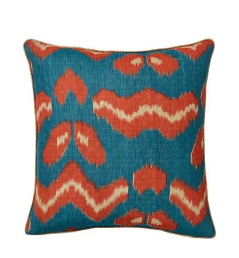 Haruku Cushion Cover - Ocean Blue