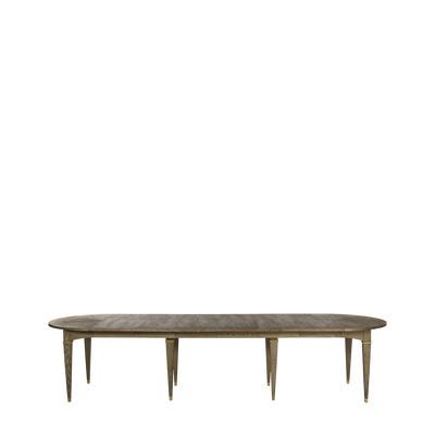 Hawkley Extendable Dining Table - Smoked Oak