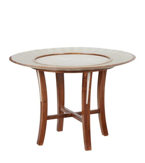 Hengsha Coffee Table Small - Taupe/Nut Brown