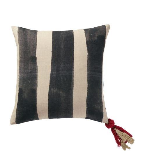 Huaca Reversible Cushion Cover - Charcoal 51cmsq