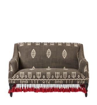 Tarma 2-Seater Sofa - Charcoal