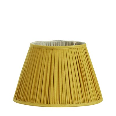 Iro Pleated Linen Lampshade 35cm - Alchemilla