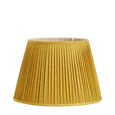 Iro Pleated Linen Lampshade 45cm - Alchemilla