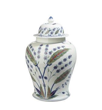 Isphahan Lidded Jar - Multi