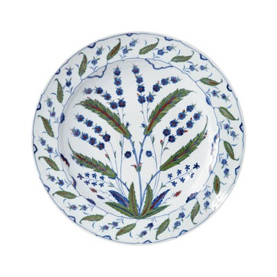 Isphahan Porcelain Giant Charger