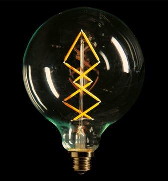 Aura 6W E27 LED Lightbulb - Warm White
