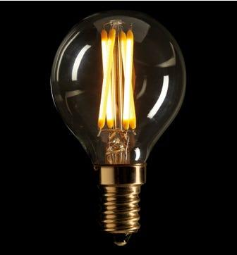 Pluto 3W E27 LED Lightbulb - Warm White