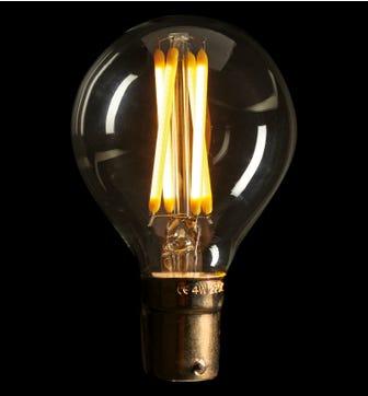 Pluto 3W B22 LED Lightbulb - Warm White
