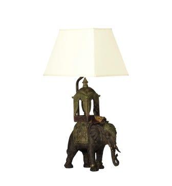 The Ceremonial Elephant Lamp - Multi