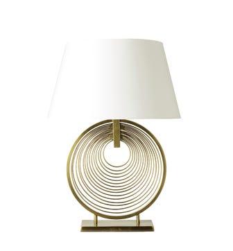 Oromo Lamp - Antique Brass