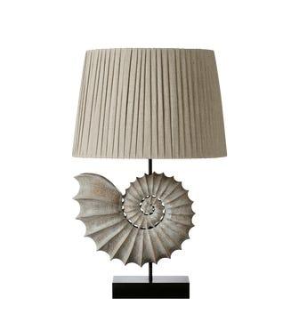 Barricane Table Lamp - Grey