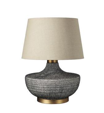 Mertensii Ceramic Table Lamp - Multi