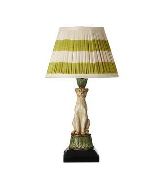Lakadema Leopard Table Lamp - Multi