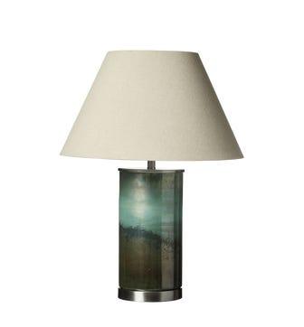 Olja Table Lamp - Green Lustre