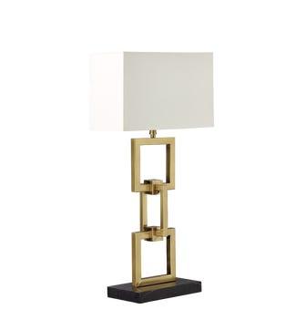 Morcent Table Lamp - Antique Brass
