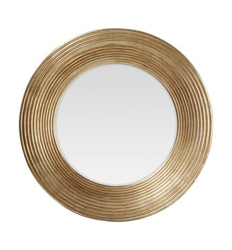 Juventa Bevelled Mirror - Antique Gold