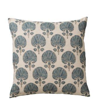 Kabibi Cushion Cover - Grey/Blue
