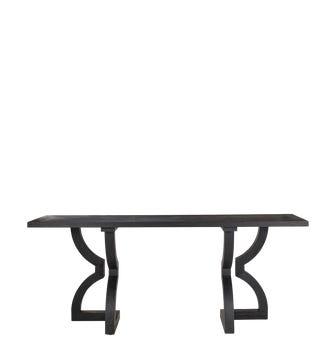 Kaishu Console Table - Black