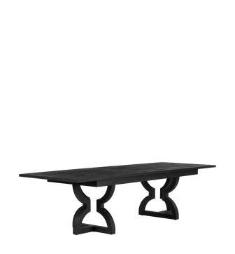 Kaishu Extending Table - Black