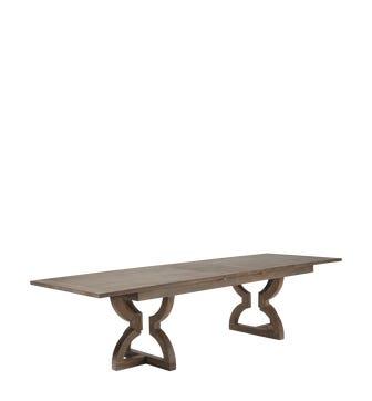 Kaishu Extending Table - Watered Grey