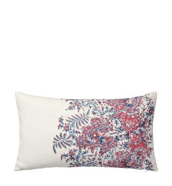 Kandini Cushion Cover, Small - Raspberry/Blue