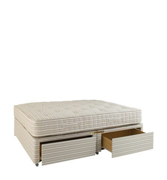 Standard Double Mattress & Divan Bed with Drawers