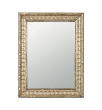 Kinvara Distressed Wall Mirror - Taupe