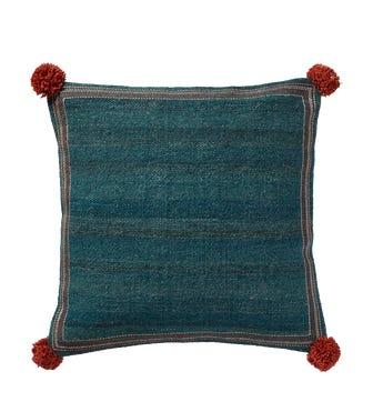 Kitsai Cushion Cover (51cmSq) - Blue