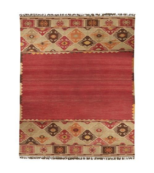 Konya Turkish-Design Kelim Rug - Wool