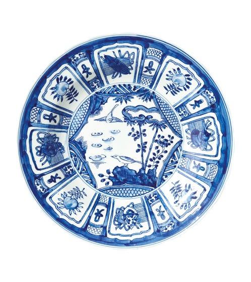 Kraak Dinner Plate, Large
