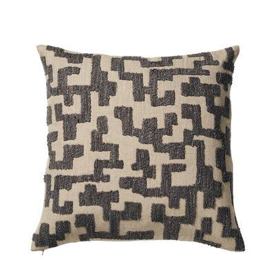Labirinto Cushion Cover - Gainsborough Grey