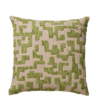 Labirinto Cushion Cover - Putting Green