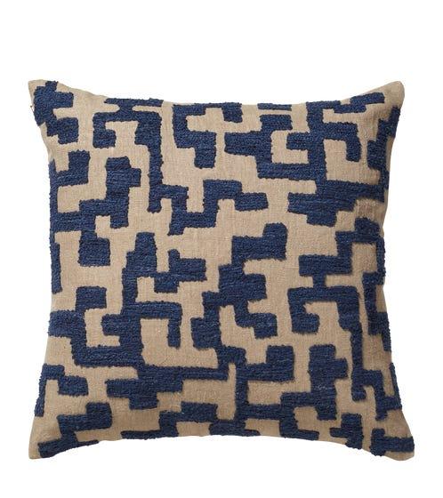 Labirinto Cushion Cover - Perfect Navy