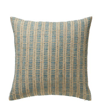 Large Binarii Pillow Cover - Coral