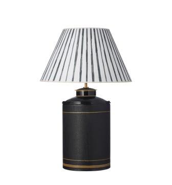 Large Camellia Table Lamp - Black