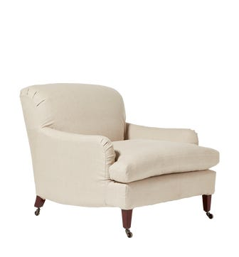 Large Coleridge Armchair Cover - Natural