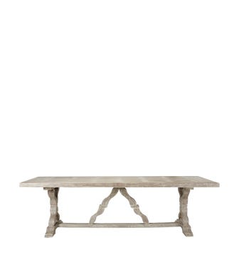 Large Conisbrough Dining Table - Gray