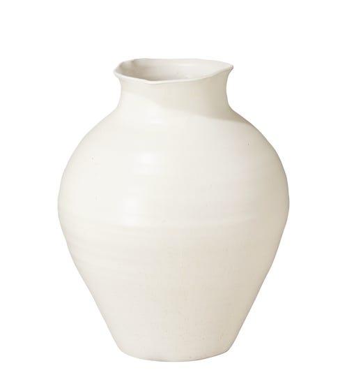 Large Fyli Vase - White
