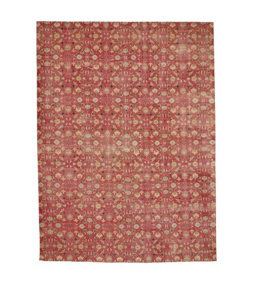 Large Shalimar Rug - Antiqued Red