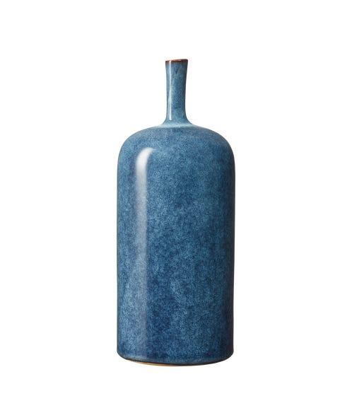 Large Zabiya Decorative Vase - Blue