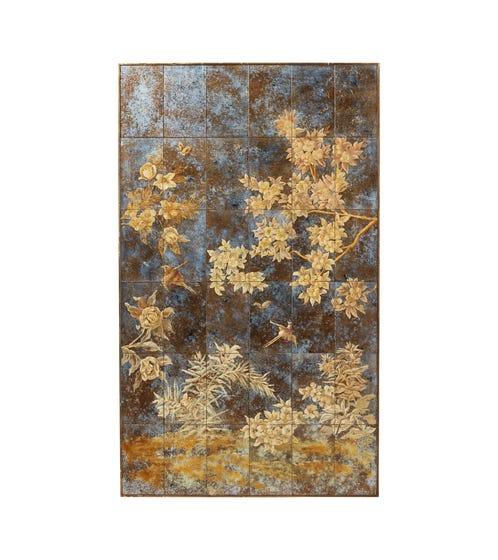 Laurelin Mirrorer Wall Art - Antique Gold