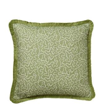 Leptoria Cushion Cover - Putting Green