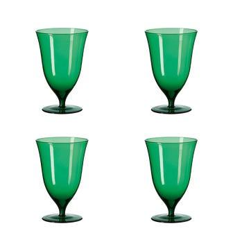 Lavaux Goblets Set of 4 - Cr?me de Menthe