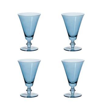 Elne Champagne Flute Small - Sapphire
