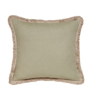 Lilias Linen Pillow Cover - Sage