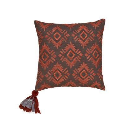 Lima Emb Linen Pillow Cover