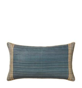 Longshan Cushion Cover - Heron Blue